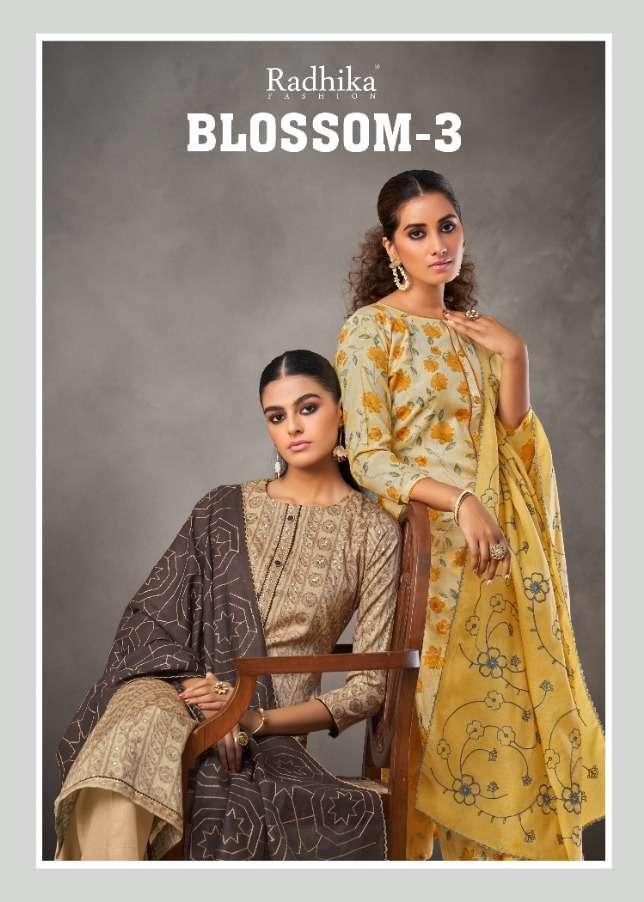Radhika Blossom Vol-3 Series 3001-3008 Cotton Dresses