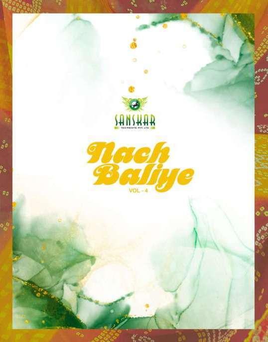 Sanskar Nach Baliye Vol-4 Series 29161-29172 Georgette Saree