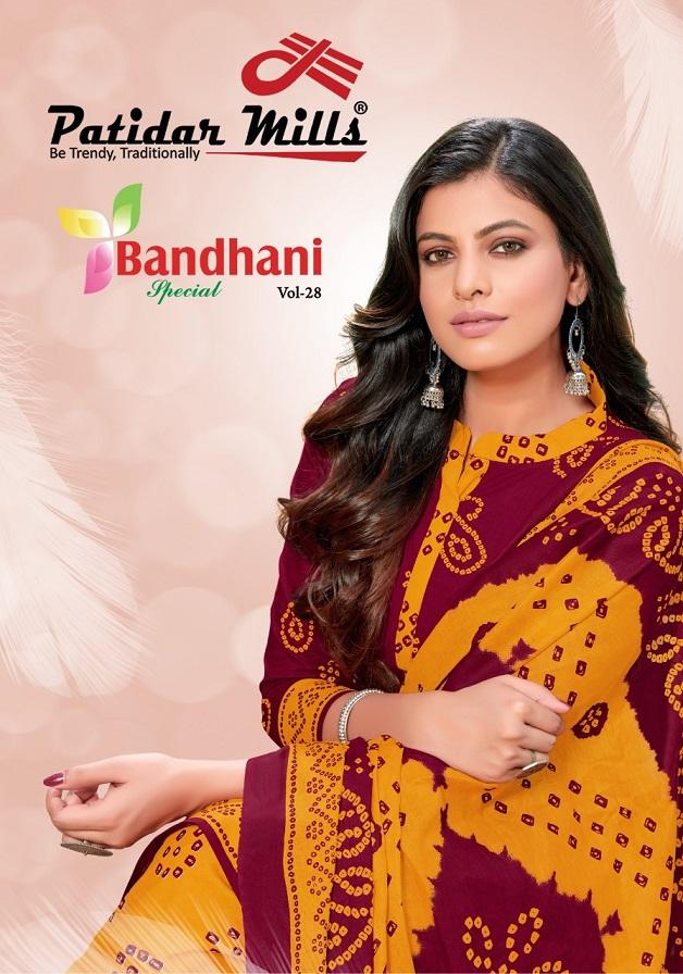 Patidar Bandhani Special Vol-28 Pure Cotton Suit