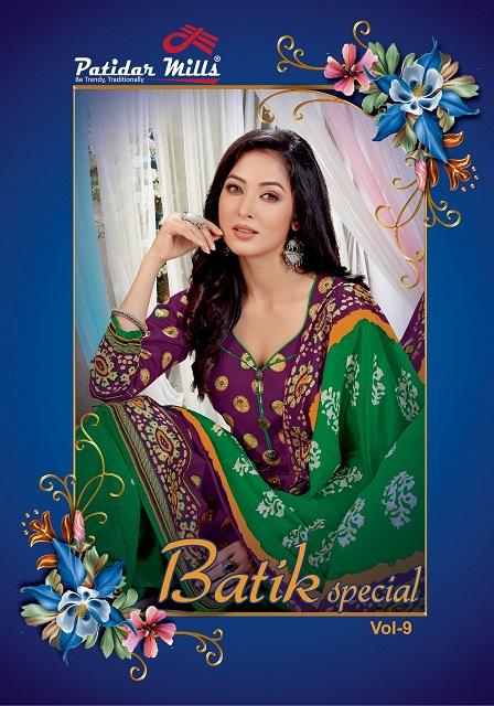 Patidar Batik Special Vol-9 Pure Cotton Suit
