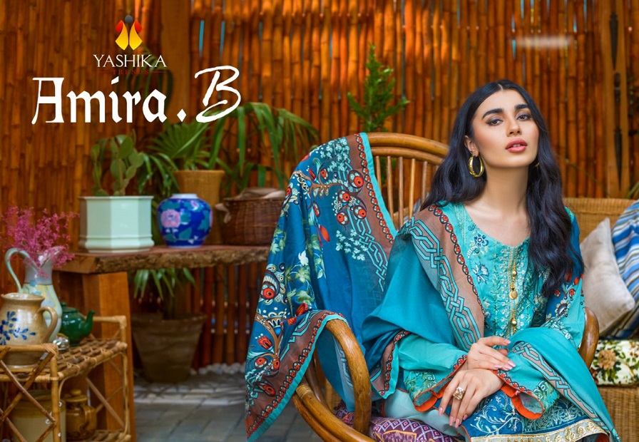 Yashika Amira B. Vol-1 Heavy Cambric Suit
