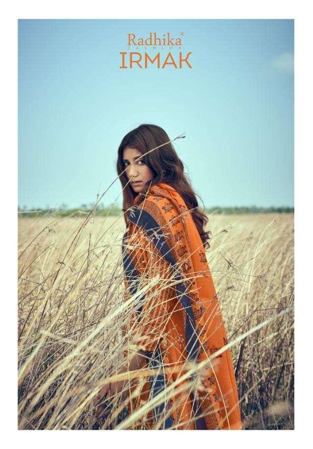 Radhika Irmak Series 39001-39008 Jam Cotton Salwar Kameez