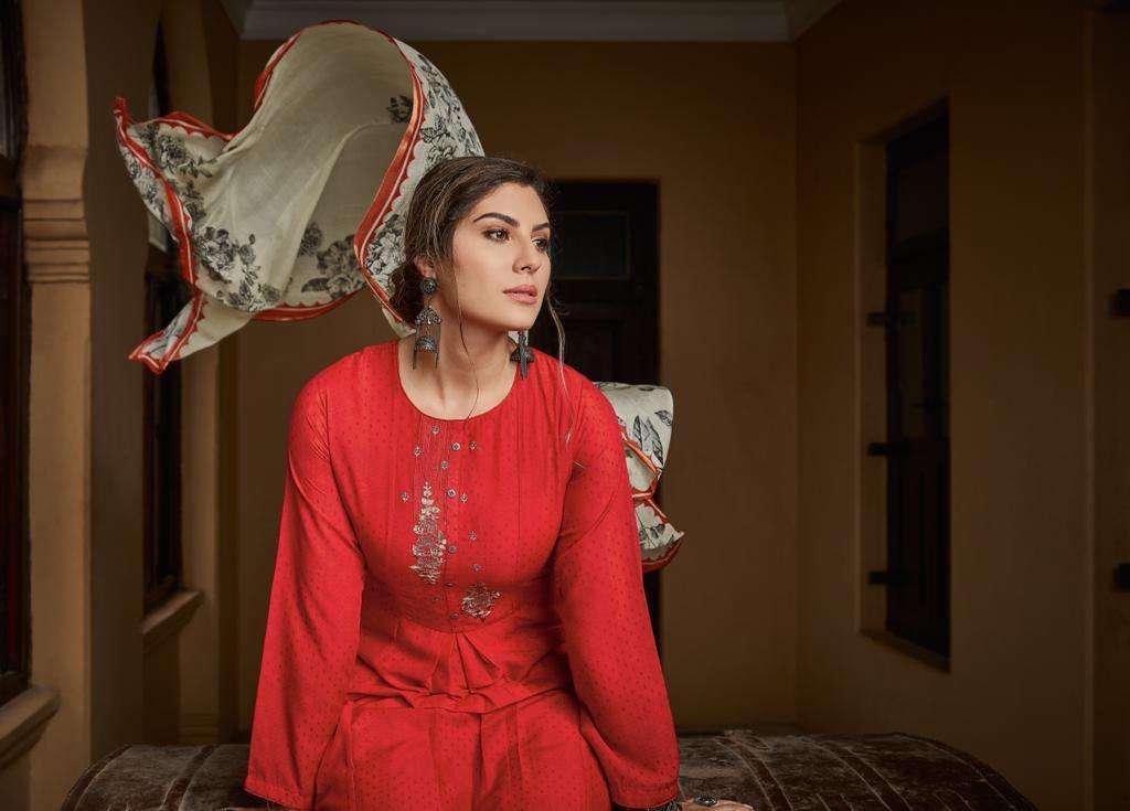 Ehrum Aryana By Varsha Fashions Muslin Printed Ladies Suits Catalogs
