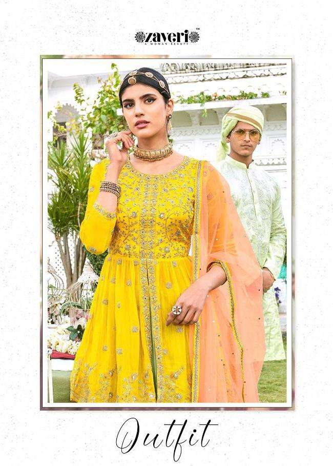 Zaveri Launch Outfit Vol 1 Exclusive Readymade Plazzo Skirt Suits Wholesaler