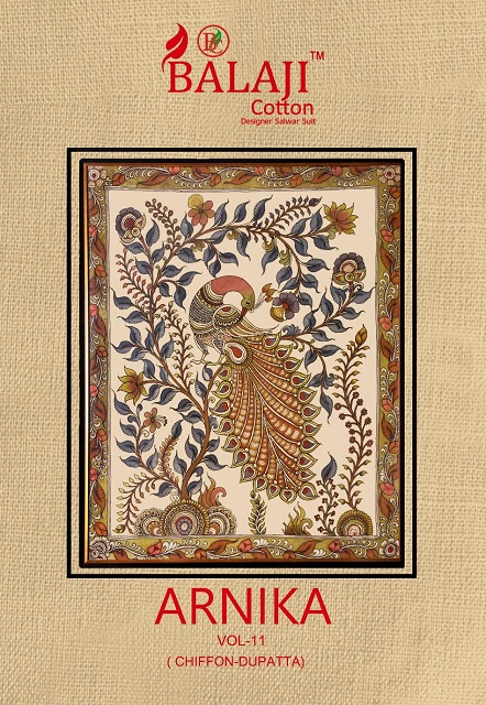 Balaji Arnika Vol-11 Series 1101-1112 Pure Cotton Suit