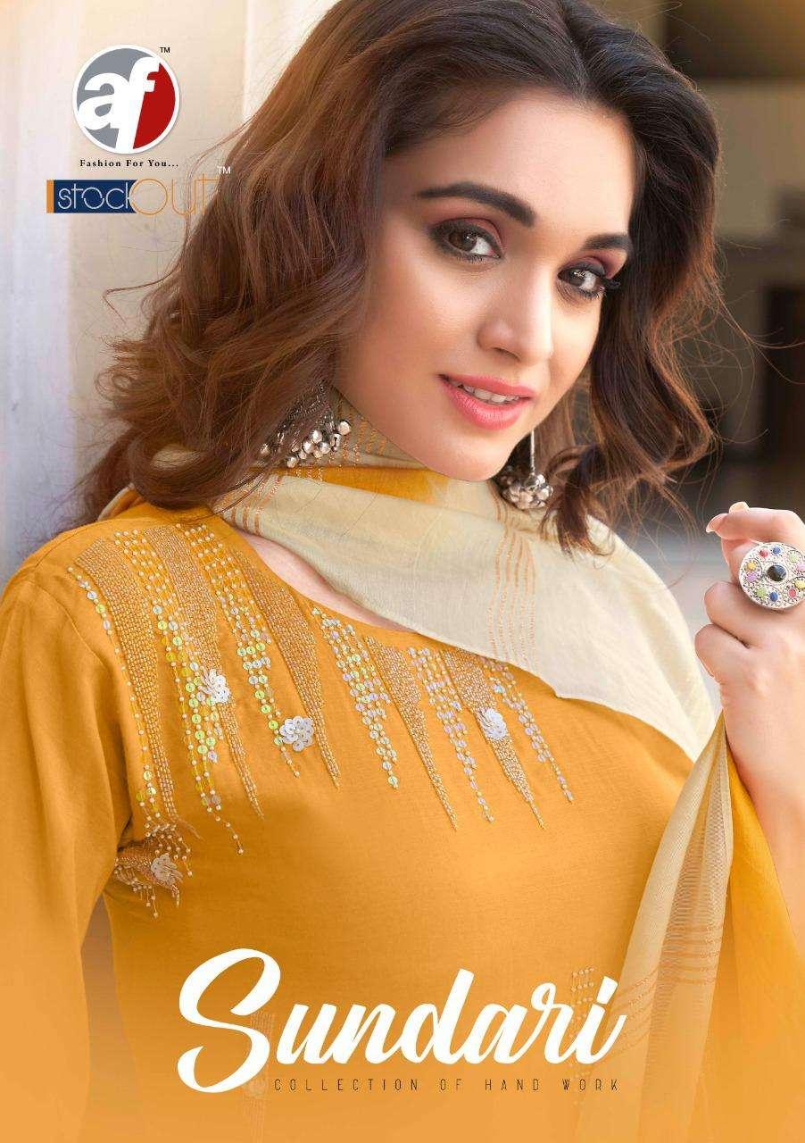Sundari By Anju Fab Pure Maslin Designer Kurti With Dupatta Collection