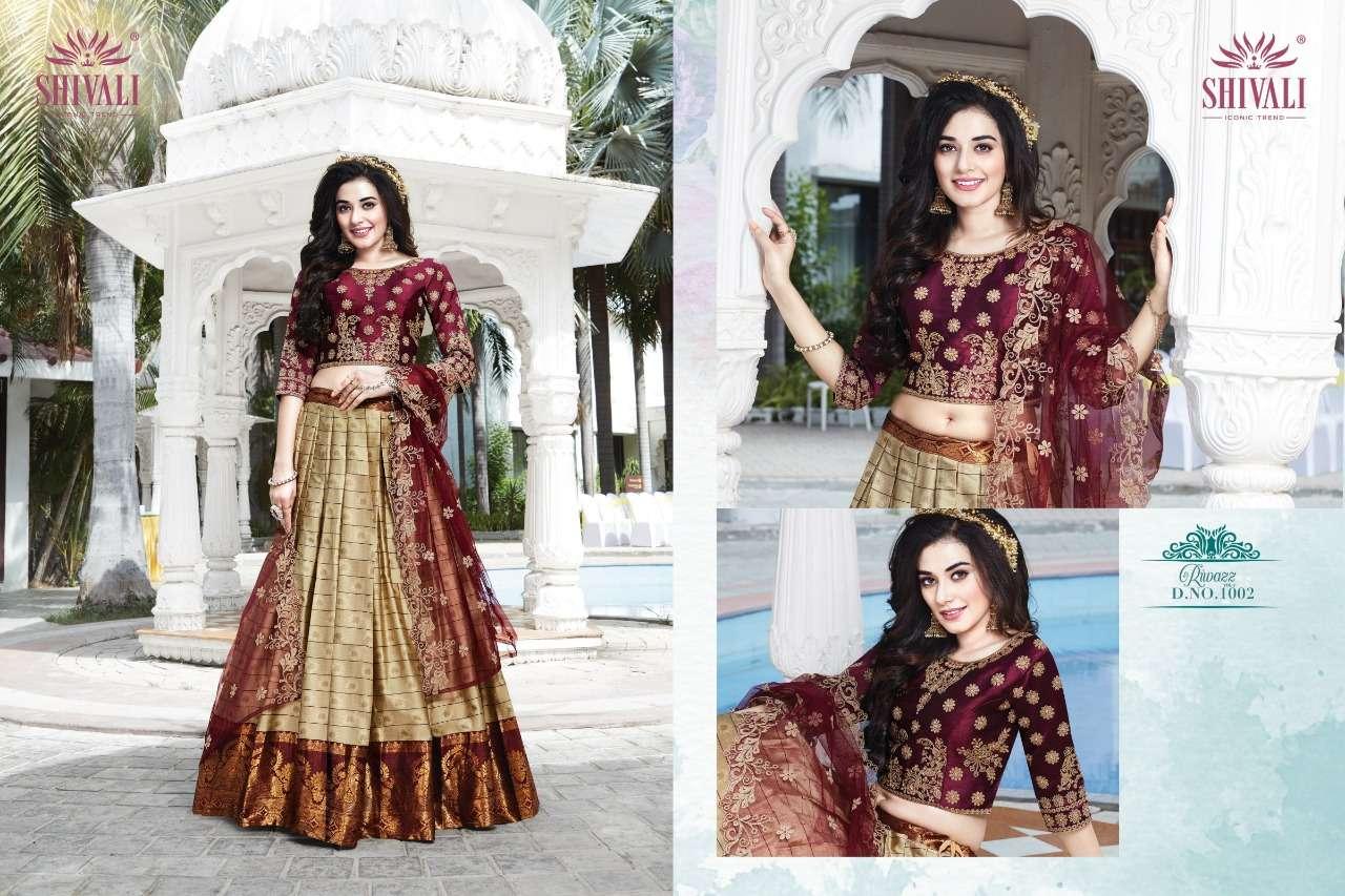 Shivali Riwazz Vol 2 Desi Designer Lehenga Concept Latest Collection