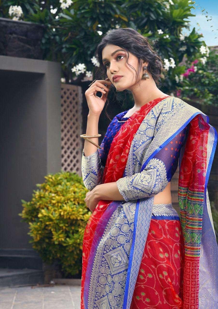 Shreyans Fashion Mughdha Silk Fancy Elegant Designer Saris Wholesaler