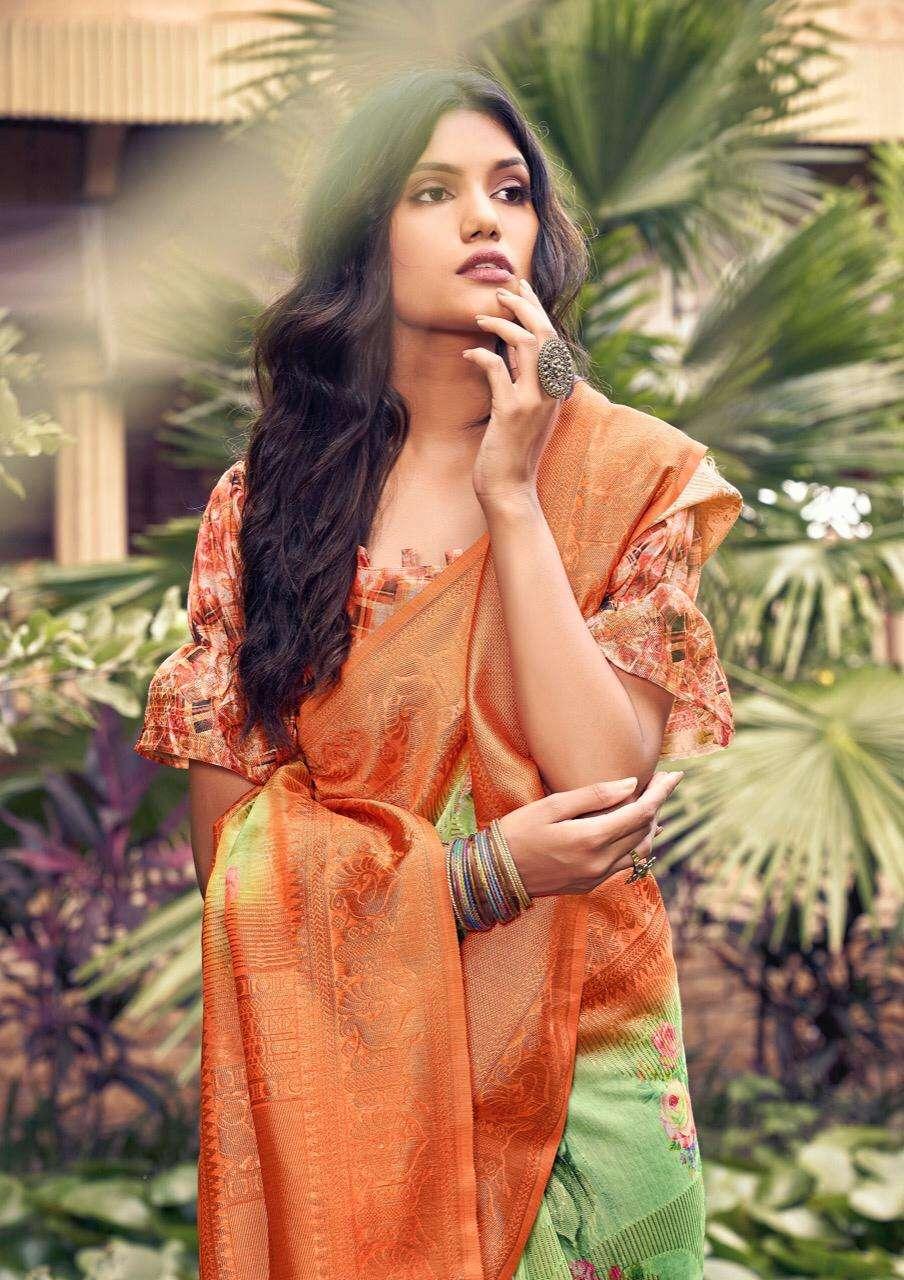 Shvetambar Creation Vanto Boutique Series 01-12 Cotton Silk Saree