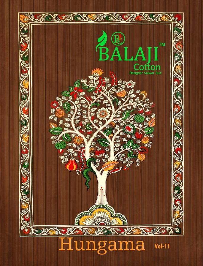 Balaji Hungama Vol-11 Series 1101-1116 Pure Cotton Suit