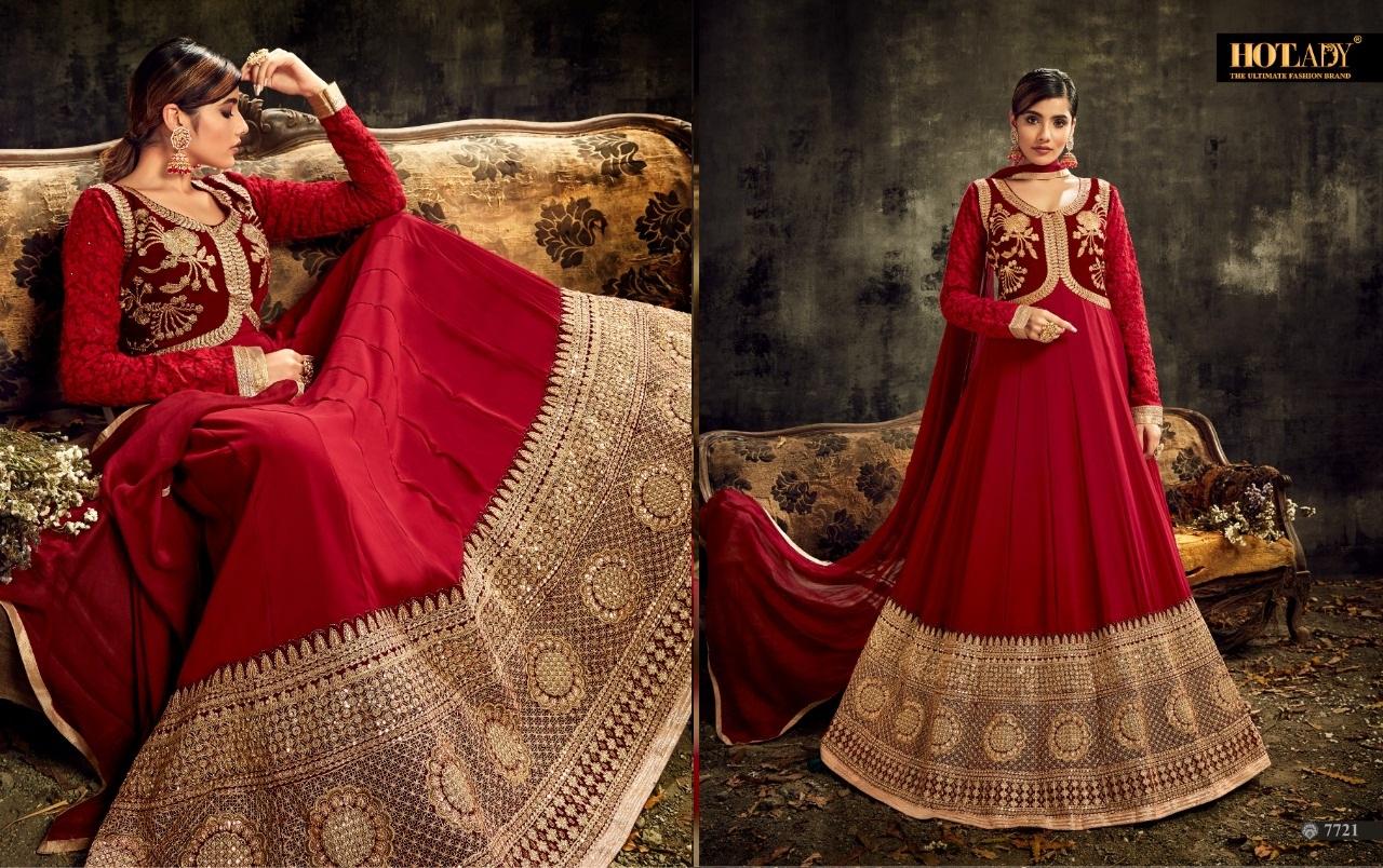 Hotlady Sareena Designer Fancy Suit