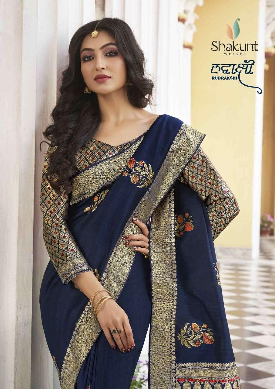 Shakunt Rudrakshi Series 29901-29906 Art Silk Saree