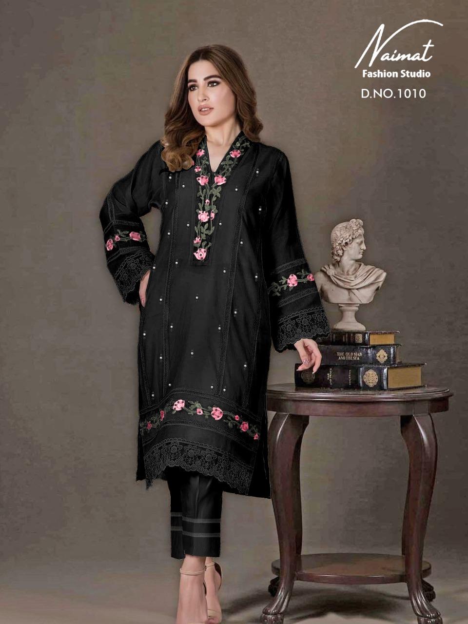 Naimat Fashion Studio Nfs-1010 Designer Pure Georgette Tunic