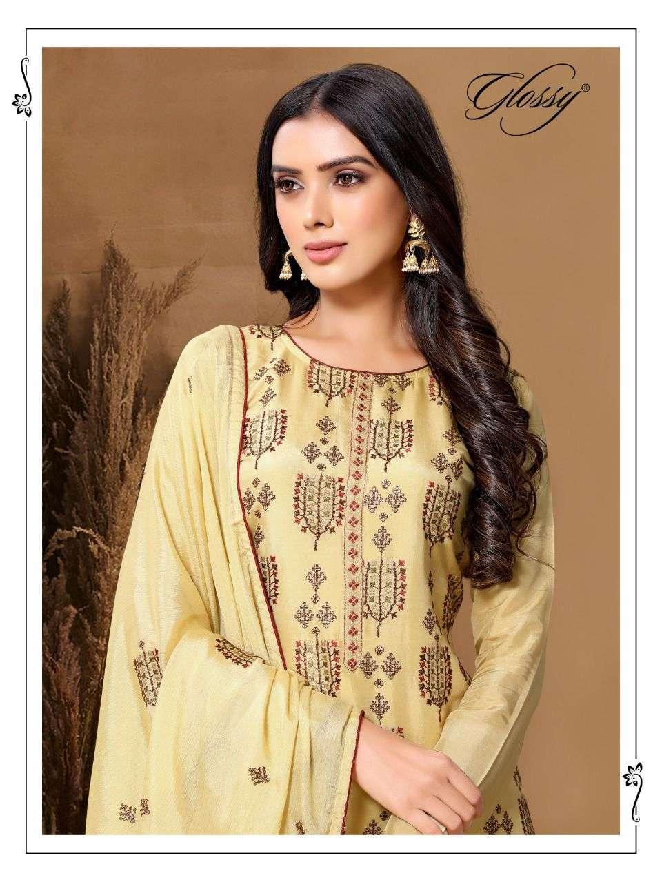 GLOSSY DNO 61 FANCY DESIGNER DRESSES FOR WOMEN