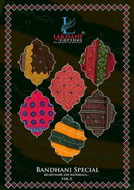 LAKHANI BANDHANI SPECIAL VOL-2 PURE COTTON SUIT