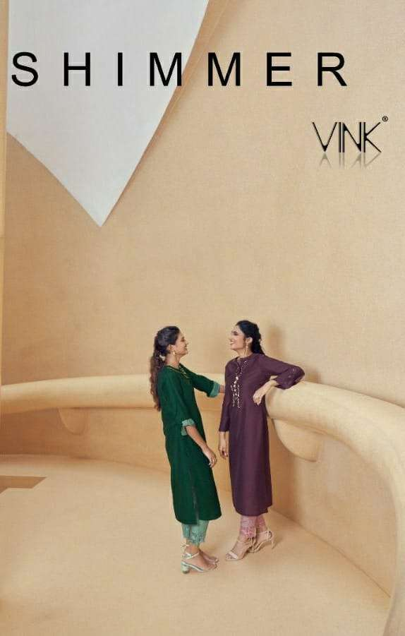 SHIMMER BY VINK SILK READYMADE PARTY WEAR SUITS WHOLESALER