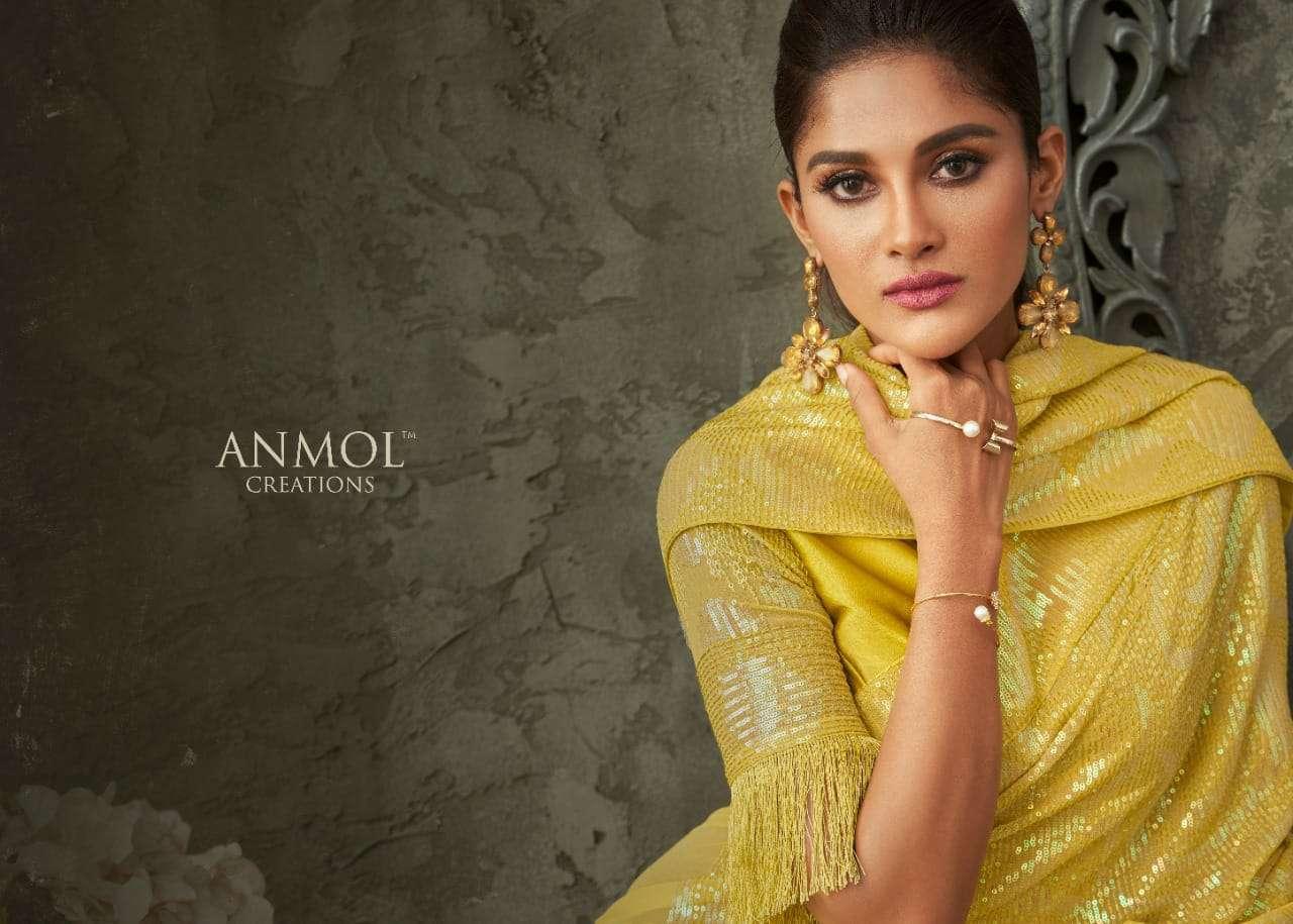 anmol creations innara vol 2 series 2201-2211 georgette saree