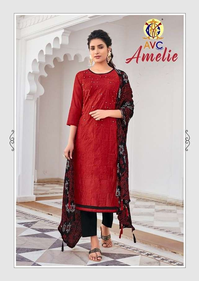 avc amelie series 1001-1005 Heavy Modal Work with handwork suit