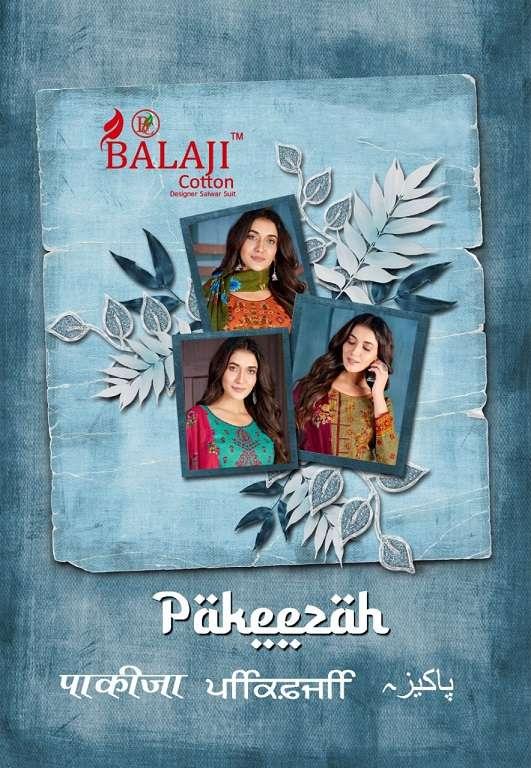 balaji cotton pakeezah series 1001-1012 pure cotton suit