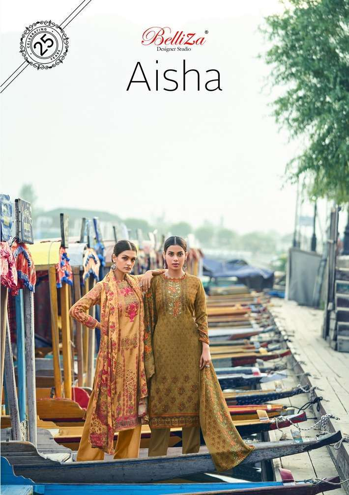 belliza alisha series 502001-502010 Pure Pashmina suit