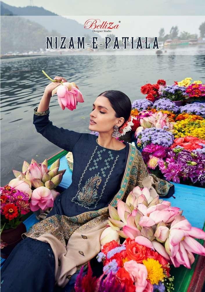 belliza nizam e patiala series 561001-561010 Pure Pashmina Print