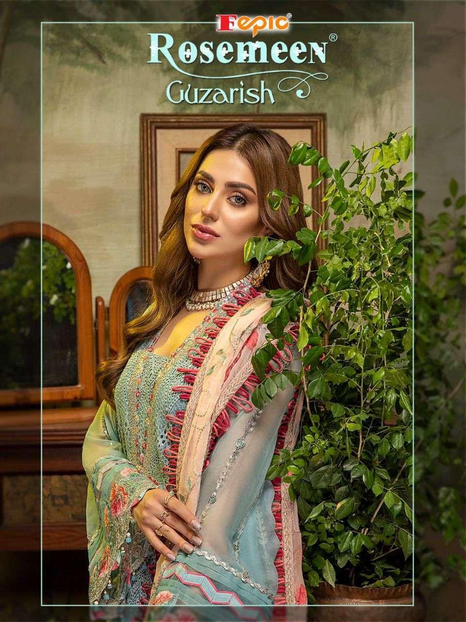 fepic guzarish series 91008-9011 faux georgette pakistani suit