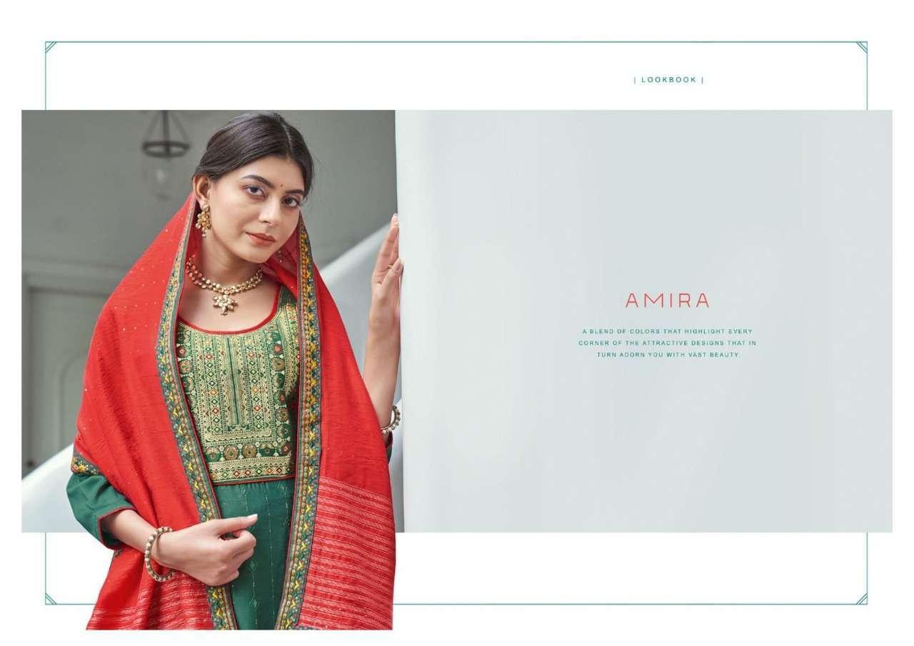 kalarang amira series 3221-3224 Parampara Silk suit