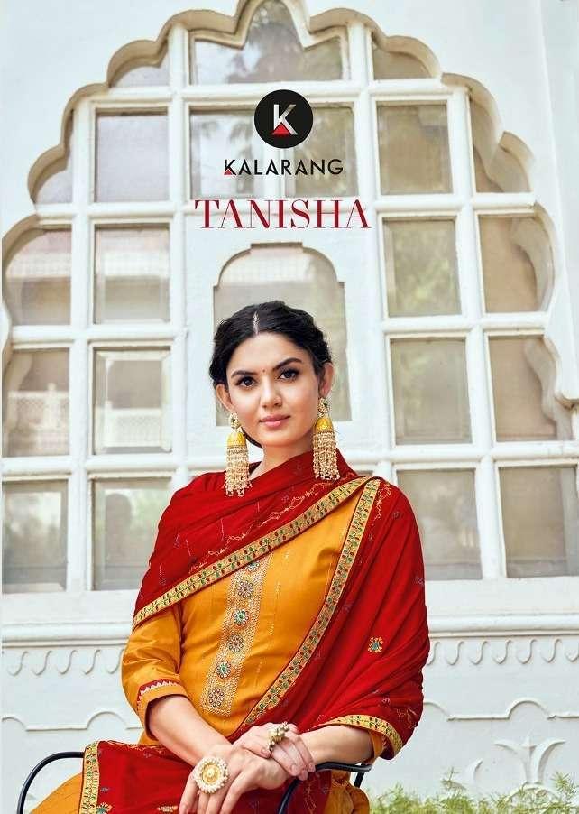 kalarang tanisha series 3261-3264 jam silk cotton suit
