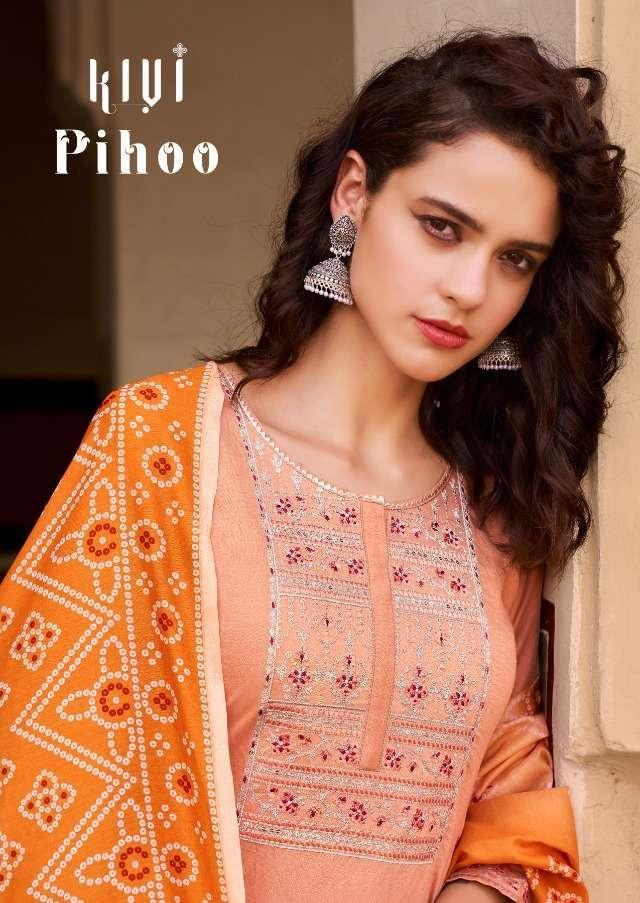 kalaroop pihoo series 12747-12750 Pure Eclipse Fabrics suit