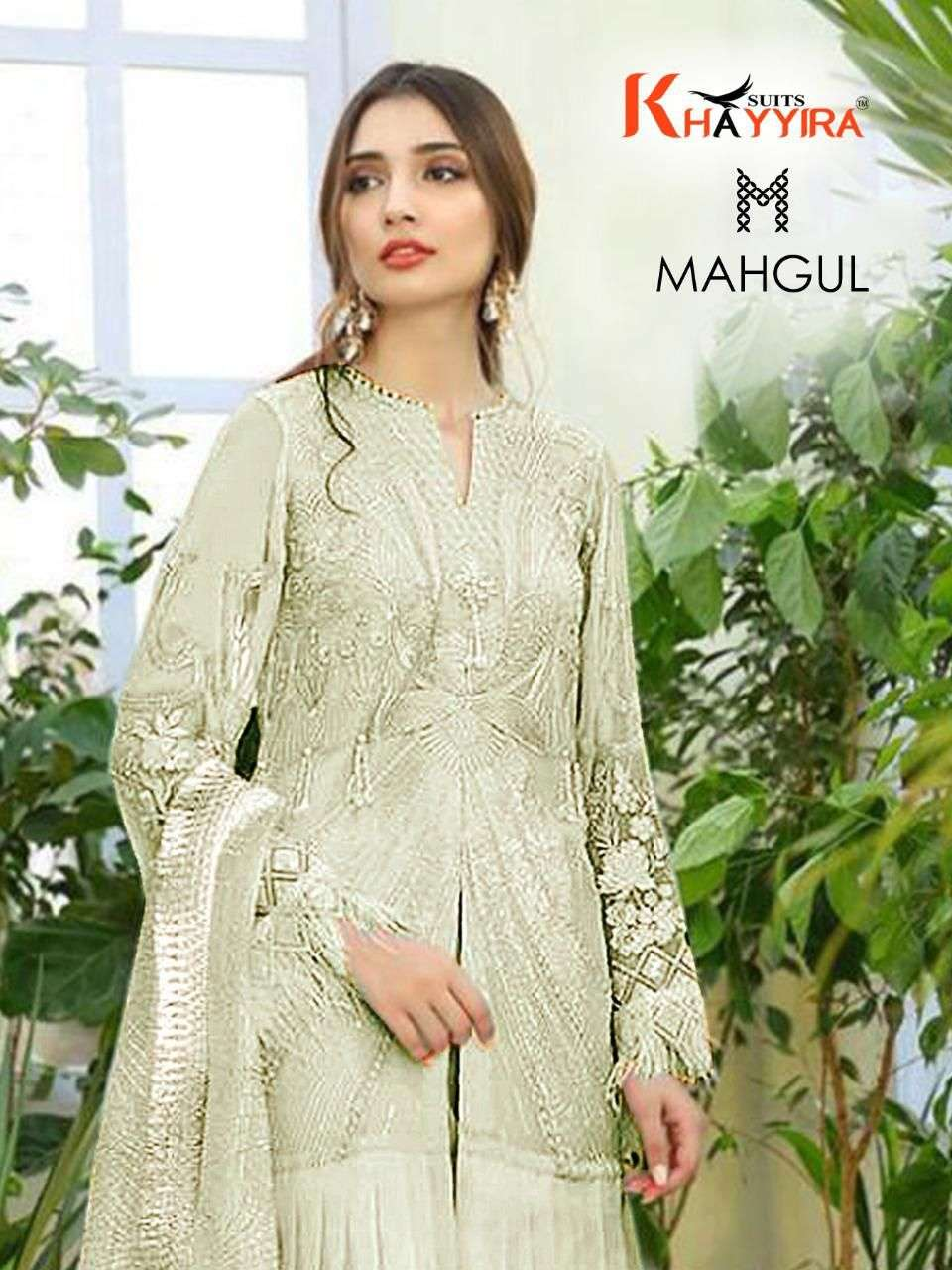 khayyira suits mahgul series 2001 butterfly net embroidered suit