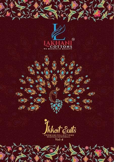 lakhani ikkat suits vol 4 series 405-416 pure cotton suit