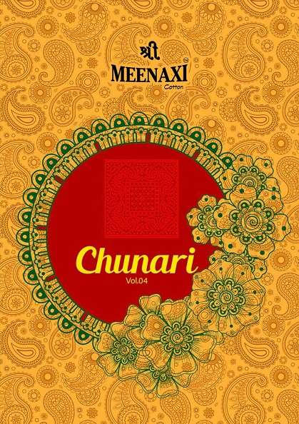meenaxi chunari vol 4 series 4001-4010 pure cotton suit