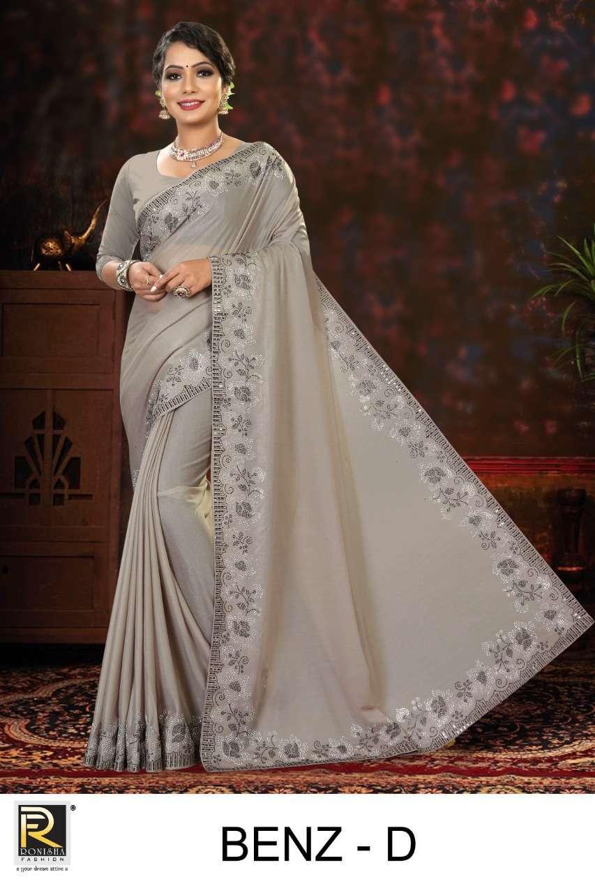 ranjna saree benz imported lycra exclusive saree collection