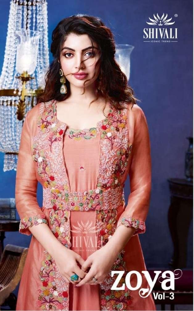 shivali zoya vol 3 series 1001-1005 fancy handwork & hand embroidered suit