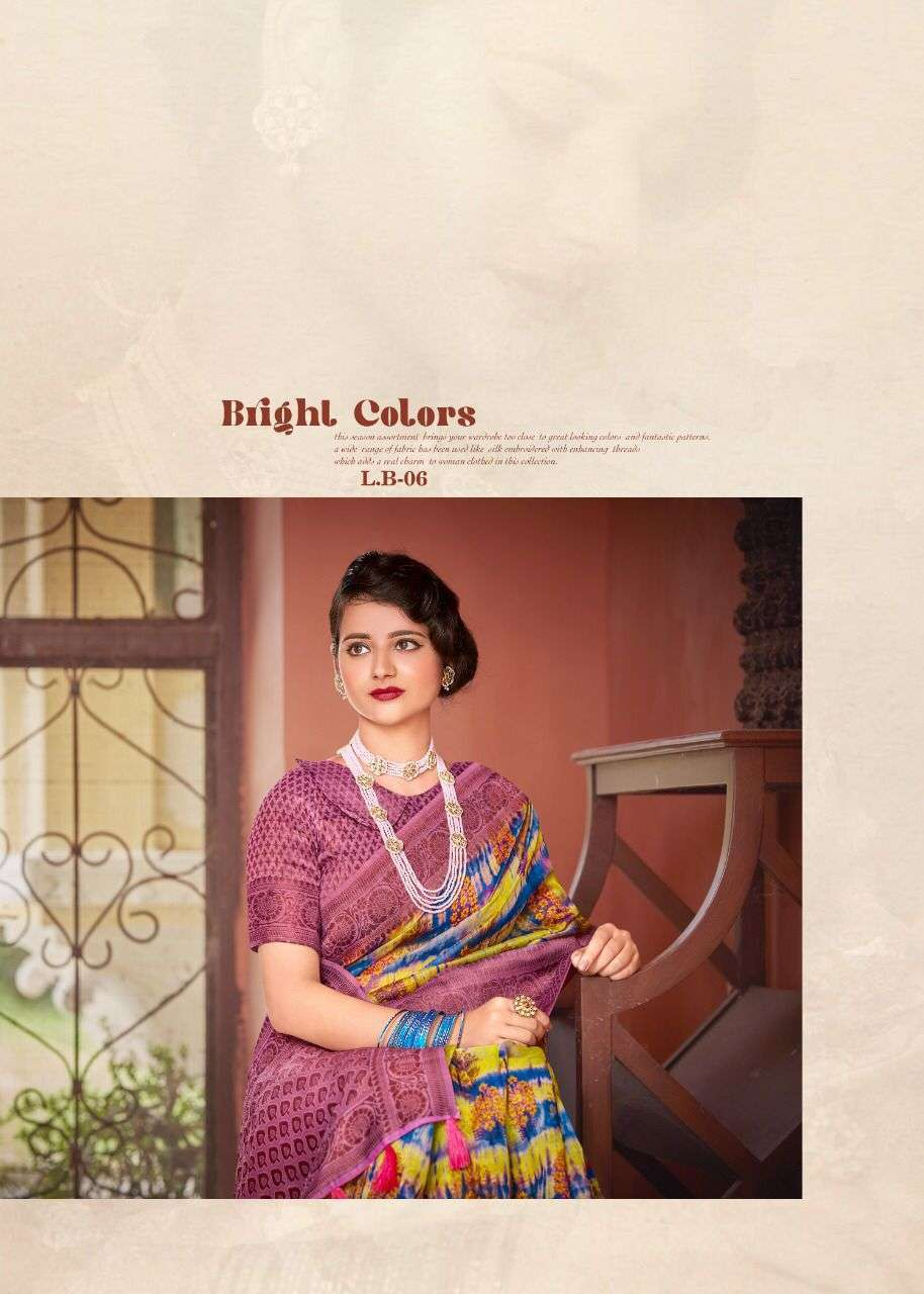 shvetambar luminous boutique series 01-12 soft cotton weaving saree