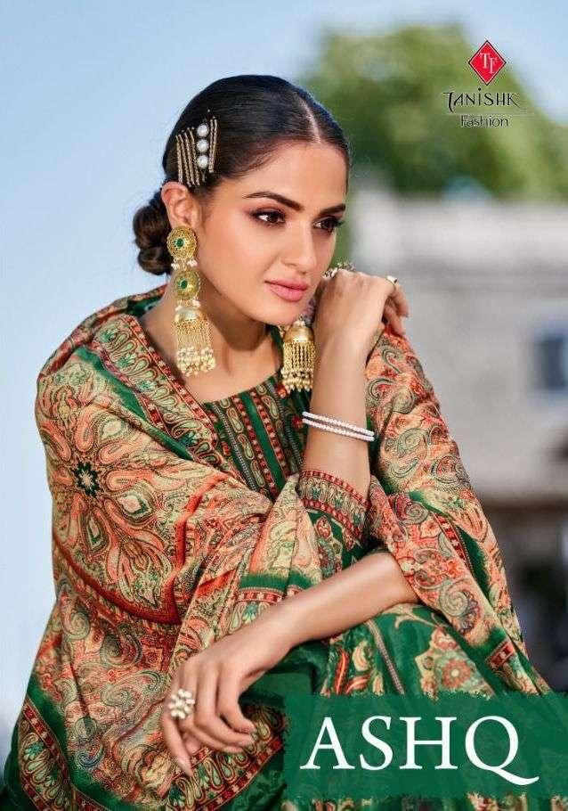 tanishk ashq series 17201-17206 Pure 9000 velvet with Digital print suit