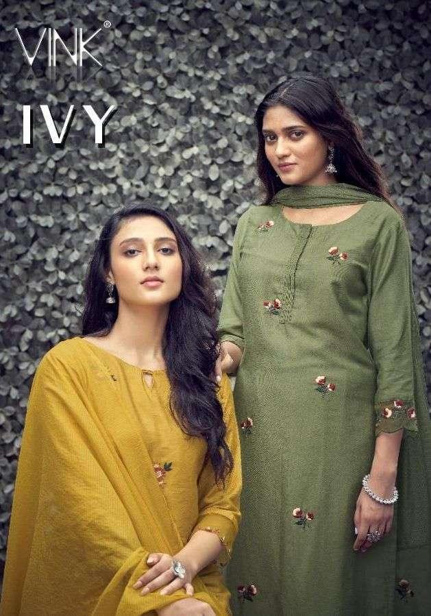 vink ivy series 1321-1326 viscose readymade suit