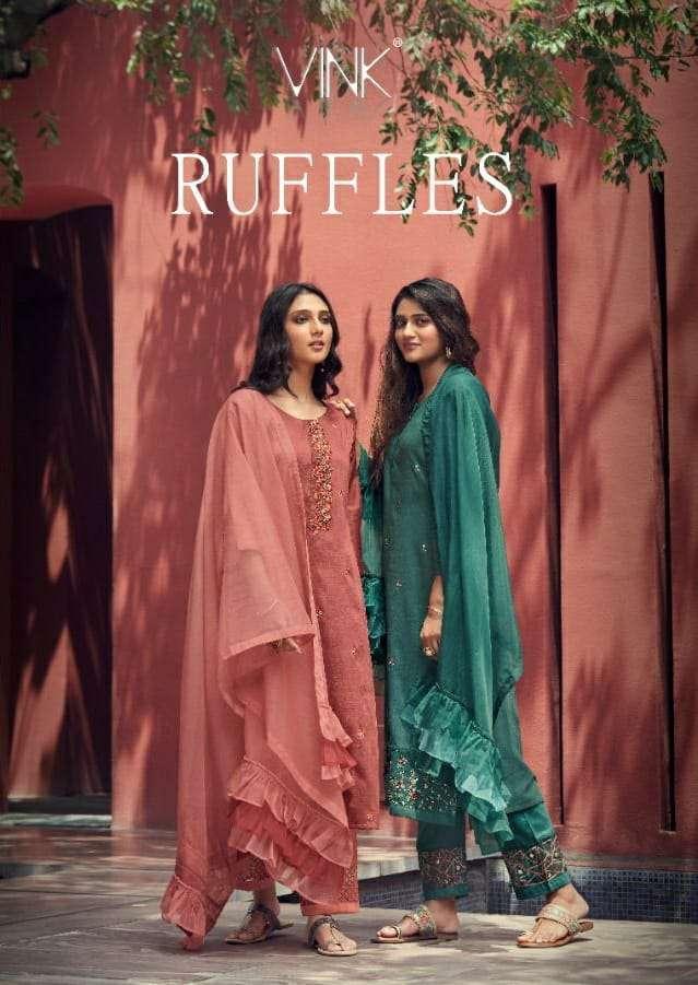 vink ruffles series 1271-1276 silk base suit