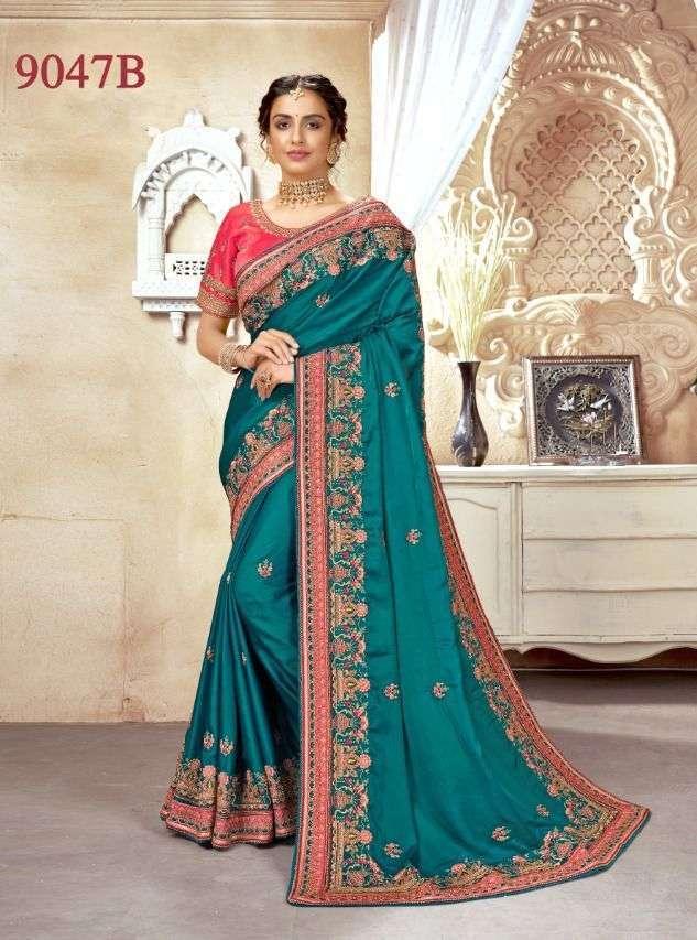 vritika lifestyle series 9045 A B to 9049 A B crape silk & Barfi silk saree