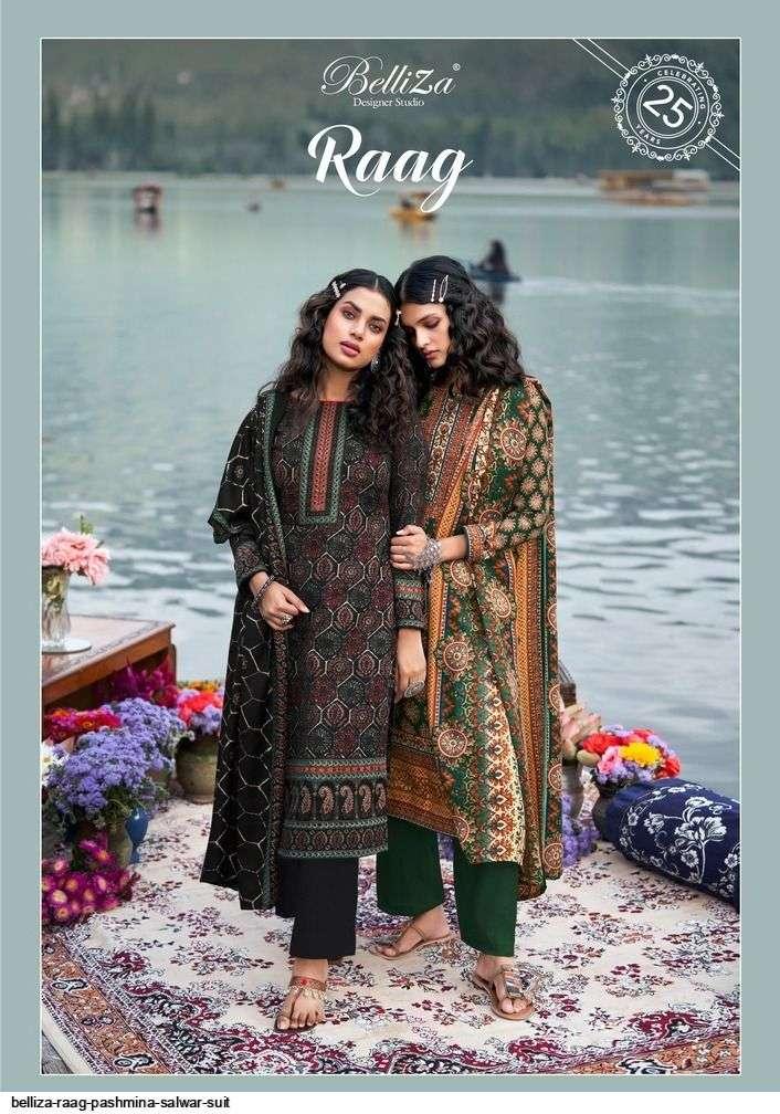 belliza raag series 001-010 pure pashmina suits