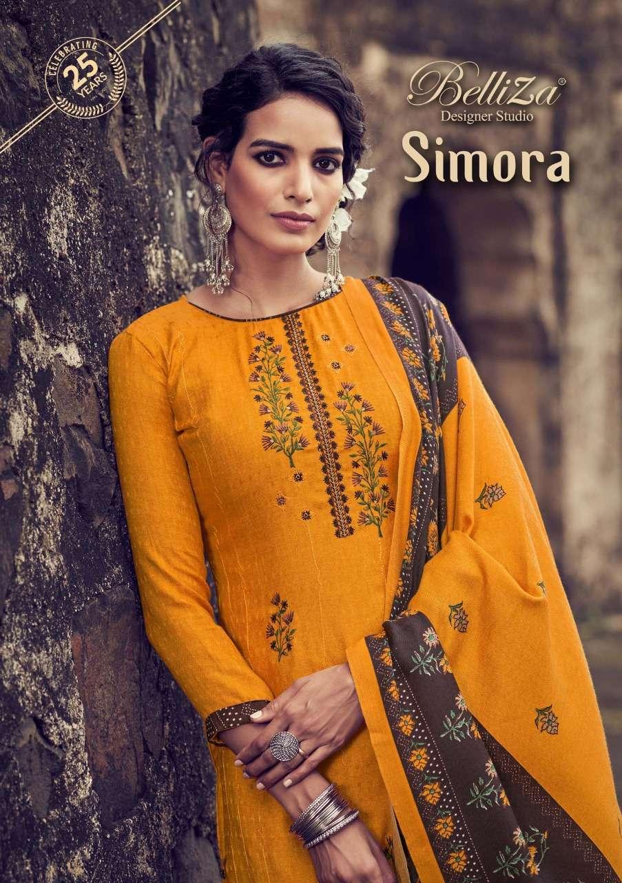 belliza simora series 569001-569010 pure pashmina suits