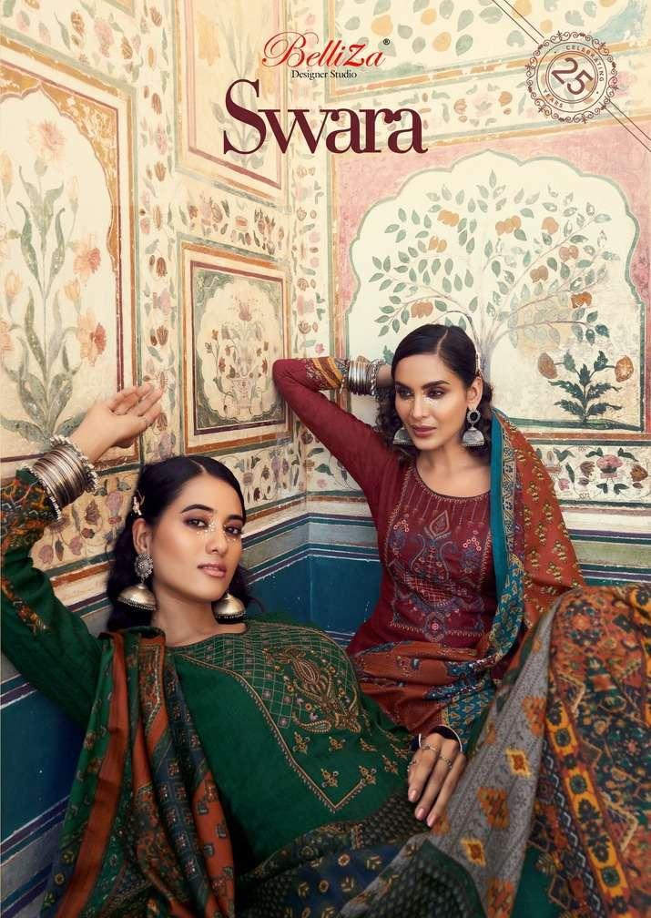 belliza swara series 570001-570010 pure pashmina suit