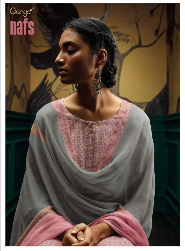 ganga nafs series C0714-C0719 premium pure wool suit