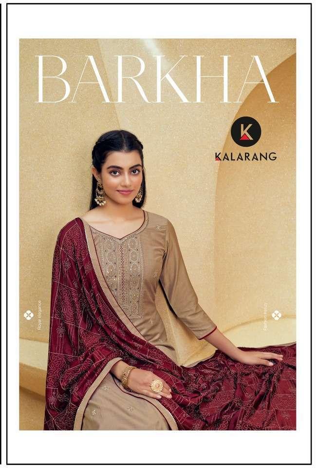 kalarang barkha series 3301-3304 parampara silk suit