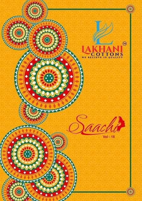 lakhani saachi vol-18 series 1800-1811 pure cotton suit