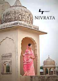 lt fashions nirvata series 58001-58010 cotton silk sarees