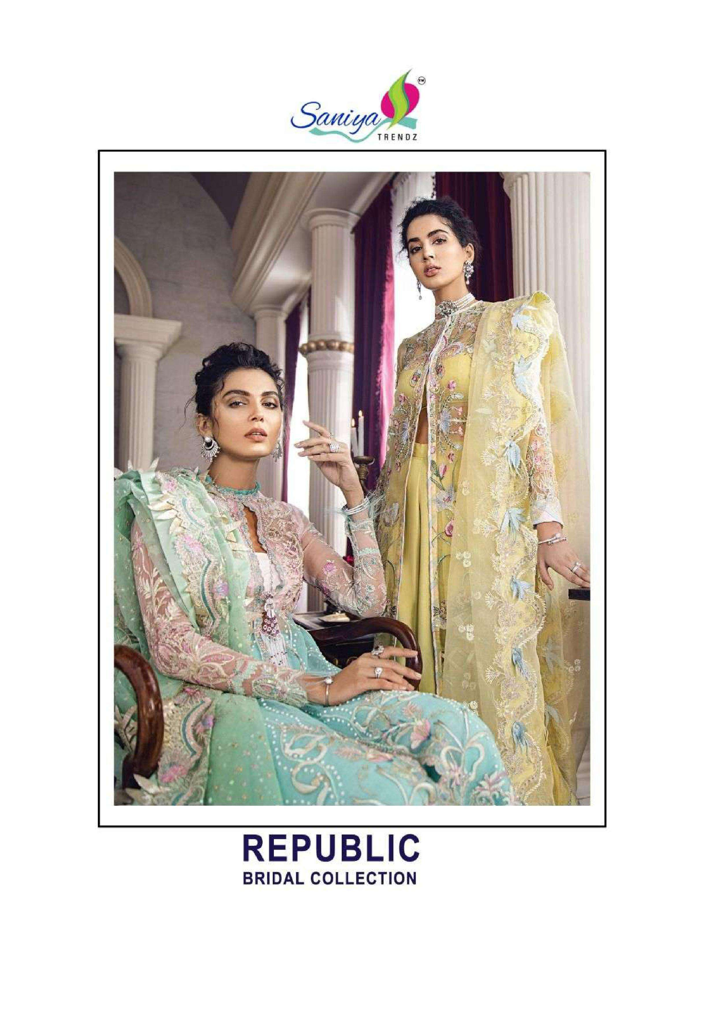 saniya trendz republic 1 series 26001-26003 butterfly net suit
