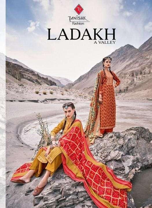 tanishk fashion ladakh series 17301-17308 pure pashmina suit
