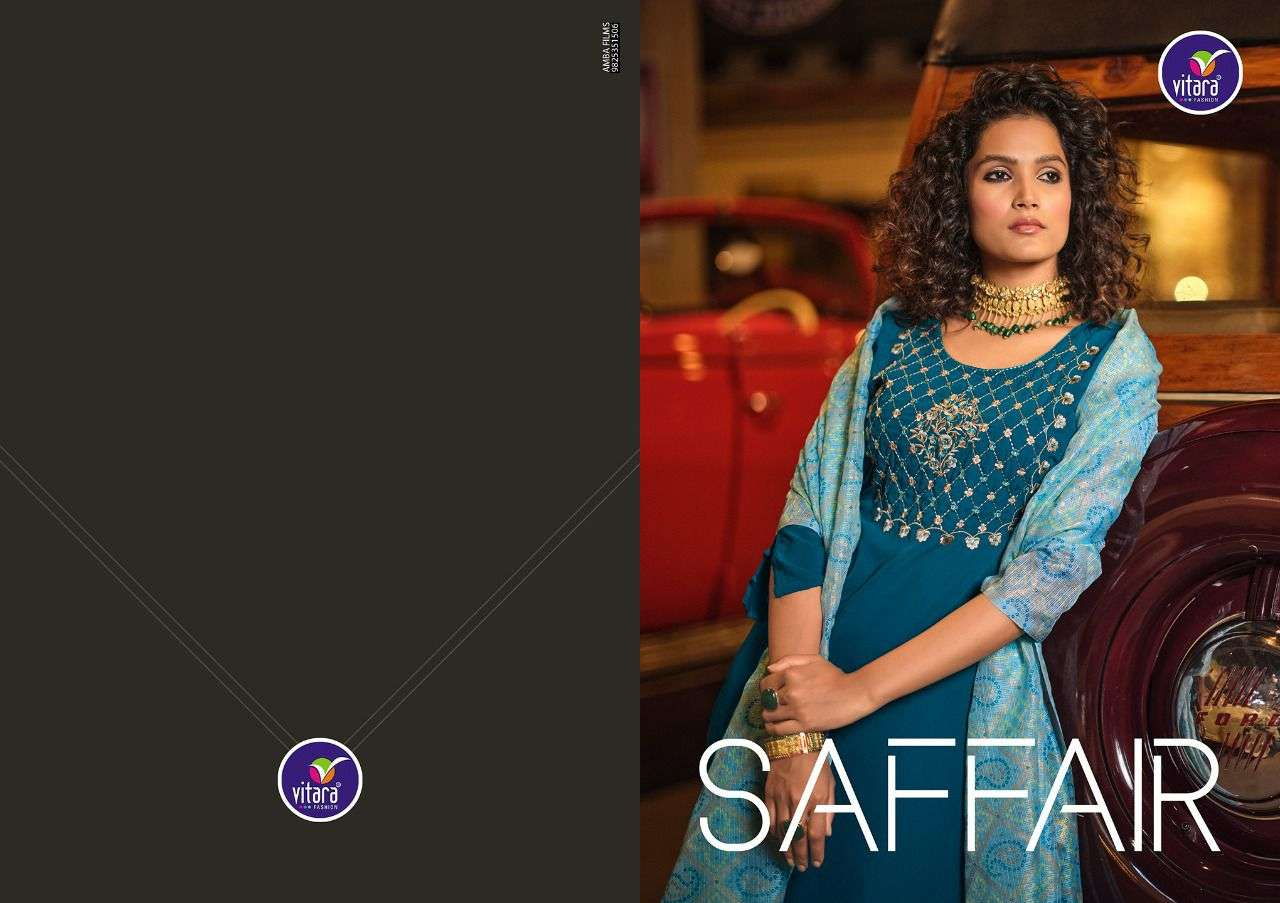 vitara saffair series 1001-1004 heavy  fiona silk suit