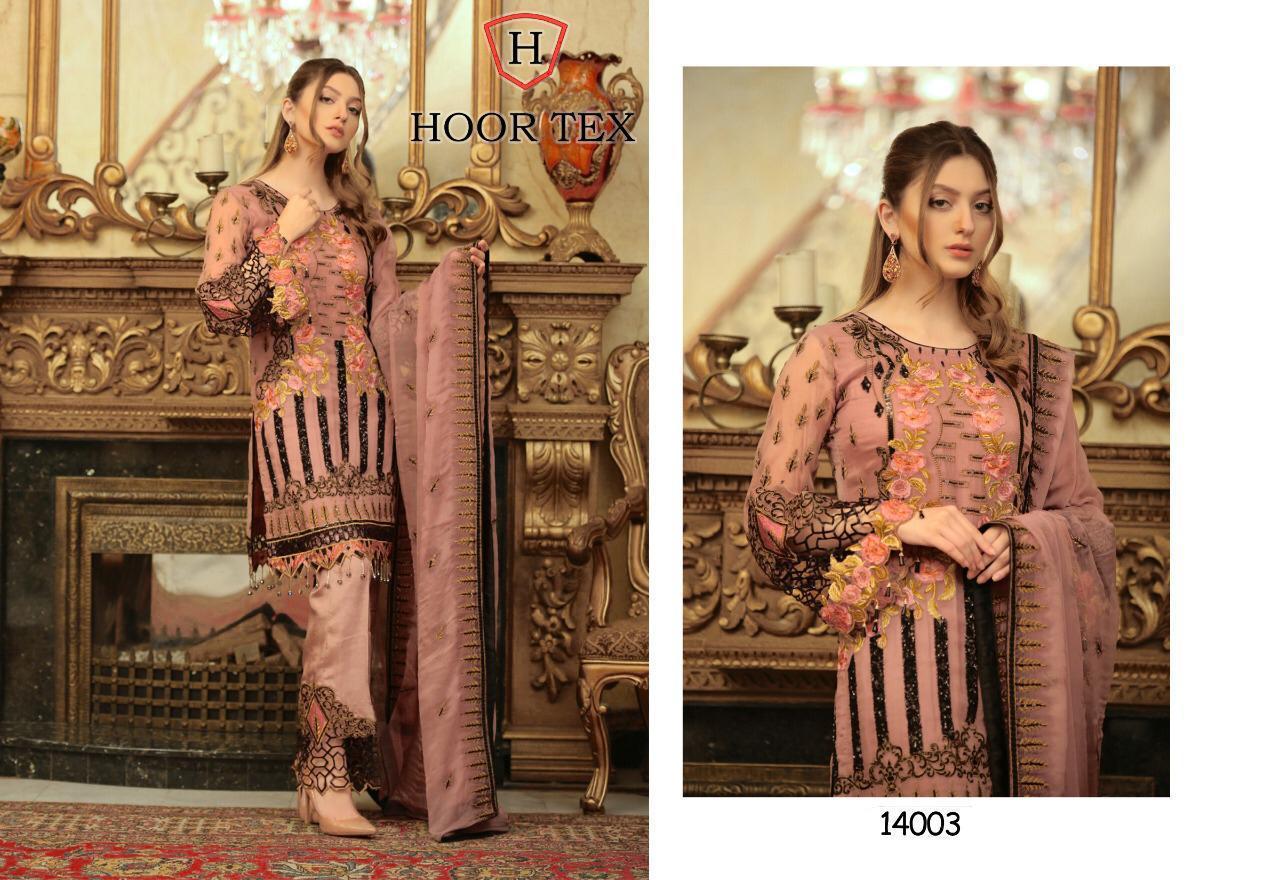 Hoor Tex 14003 Designer Heavy Georgette Suit